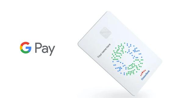 Logo e Cartão Google Pay